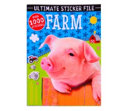 Ultimate Sticker File Farm - Over 1000 Stickers