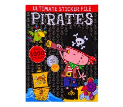 Ultimate Sticker File Pirates - Over 1000 Stickers