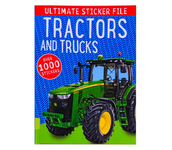Ultimate Sticker File Tractors - Over 1000 Stickers