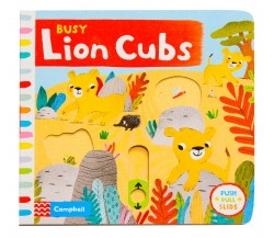 Campbell - Busy Lion Cubs - Push, Pull, Slide Book
