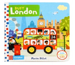Campbell - Busy London - Push, Pull, Slide Book