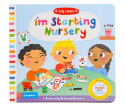 Campbell Big Steps - I'm Starting Nursery - With tips settling children into nursery for parents and carers