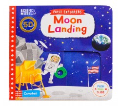 Campbell - First Explorers : Moon Landing - Push, Pull, Slide Book
