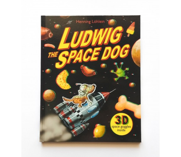 Ludwig the Space Dog - 3D Story Book With 3D Glasses