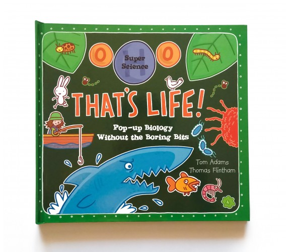 Super Science: That's Life - Pop Up - Lift-the-flaps Book