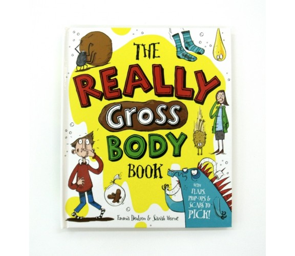 The Really Gross Body Book - Pop-up and Lift-the-Flap