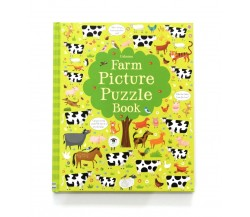 Usborne - Farm picture puzzle book