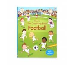 Usborne - Football first colouring book