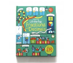 Usborne - Lift-the-flap fractions and decimals