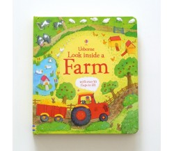 Usborne - Look inside a farm