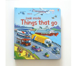 Usborne - Look inside things that go