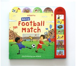 Usborne - Noisy football match Sound Book