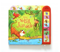 Usborne - Noisy jungle Sound Book