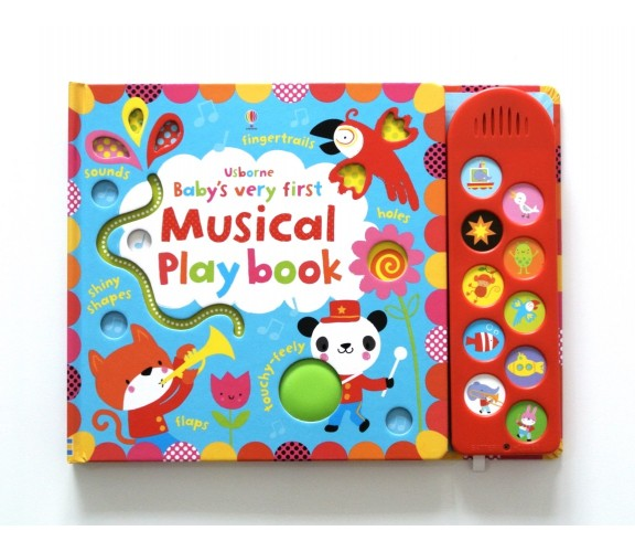 Usborne - Baby's very first touchy-feely musical play book
