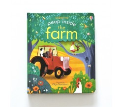 Usborne - Peep inside the farm