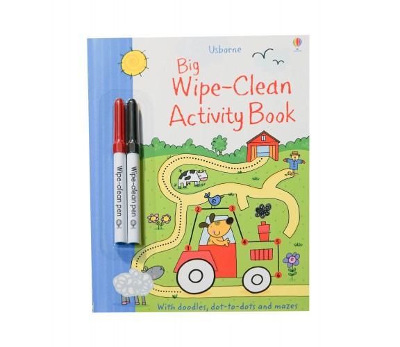 Usborne - Big wipe-clean activity book