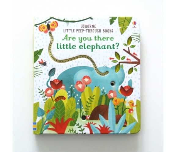 Usborne - Are you there little elephant? - Little peep-through books