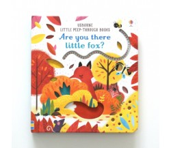 Usborne - Are you there little fox? - Little peep-through books