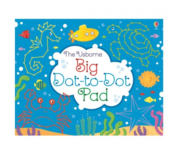 Usborne - Big dot-to-dot pad