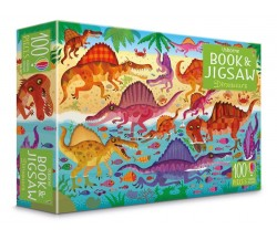 Usborne - Dinosaurs jigsaw and picture book