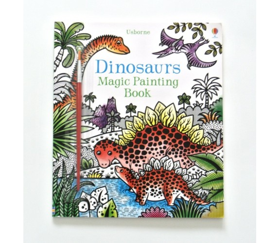 Usborne - Dinosaurs magic painting book