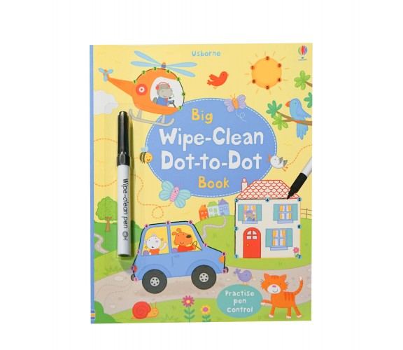 Usborne - Big wipe-clean dot-to-dot book