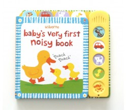 Usborne - Baby's very first noisy book - Sound Book