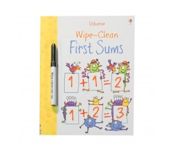 Usborne - Wipe-clean first sums