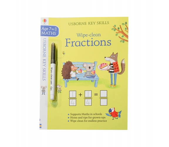 Usborne - Wipe-clean fractions 7-8