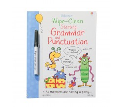 Usborne - Wipe-clean starting grammar and punctuation