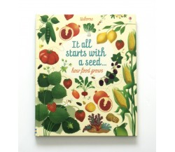Usborne - Big Picture Book - It all starts with a seed… how food grows