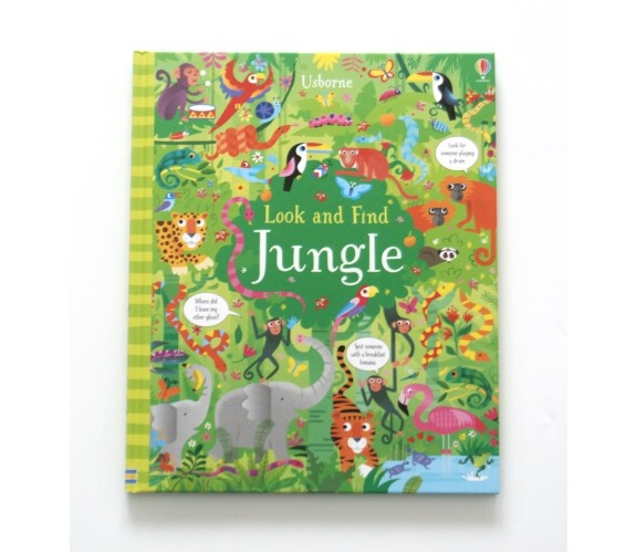 Usborne - Look and find jungle