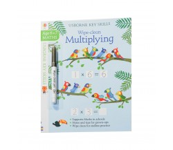 Usborne - Wipe-clean multiplying 6-7