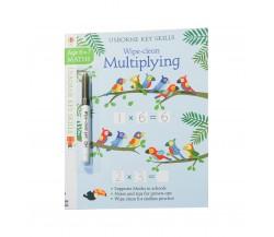 Usborne - Wipe-clean multiplying 6-7
