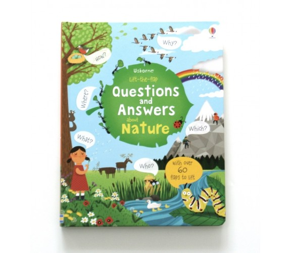 Usborne - Lift-the-flap questions and answers about nature