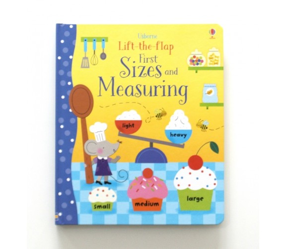 Usborne - Lift-the-flap first sizes and measuring