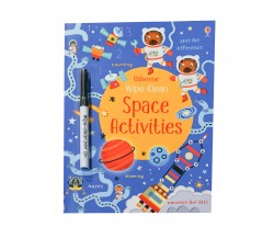 Usborne - Wipe-clean space activities