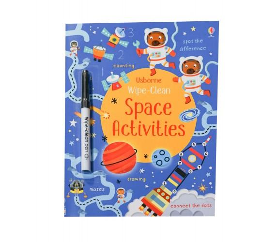 Usborne - Wipe-clean space activities
