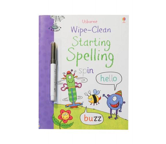 Usborne - Wipe-clean starting spelling