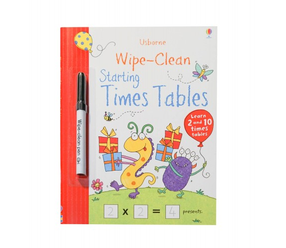 Usborne - Wipe-clean starting times tables
