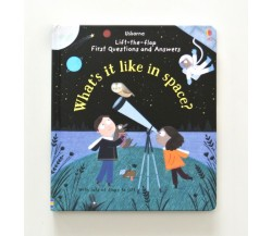 Usborne - What's it like in space? - Lift-the-flap first questions and answers