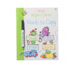 Usborne - Wipe-clean words to copy