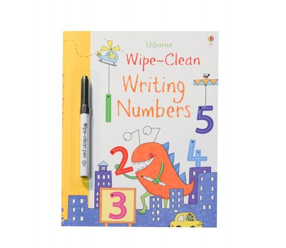 Usborne - Wipe-clean writing numbers