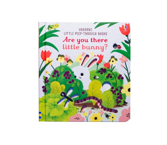 Usborne - Are you there little bunny? - Little peep-through books