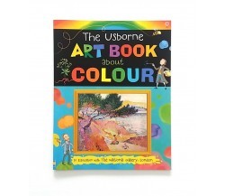 Usborne art book about colour