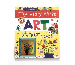 Usborne - My very first art sticker book