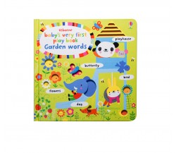 Usborne - Baby's very first play book garden words