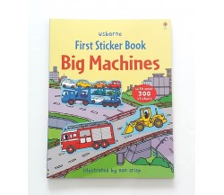 Usborne - First Sticker Book : Big machines