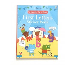 Usborne - Get ready for school - first letters sticker book