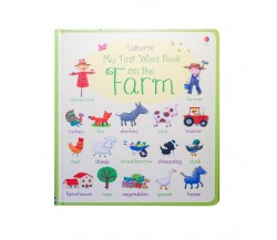 Usborne - My first word book: On the farm